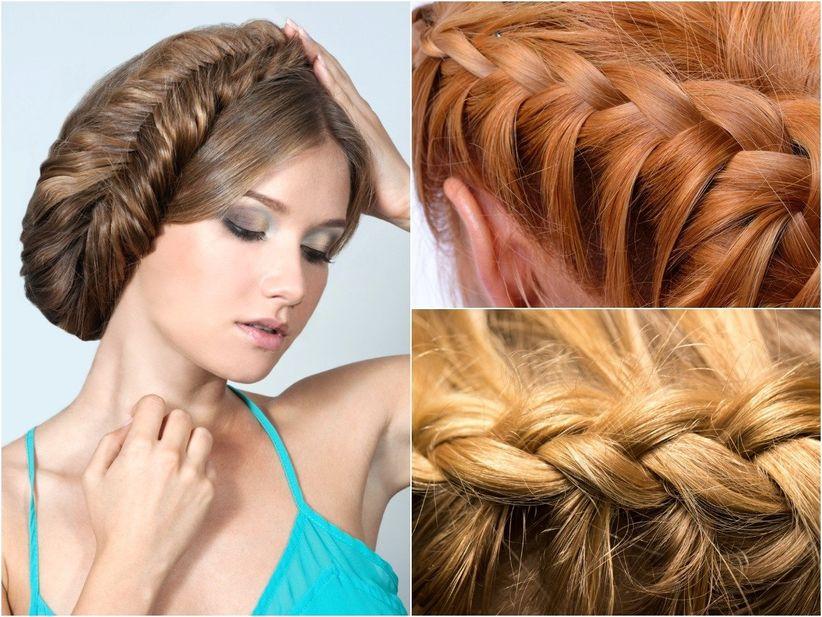 ¿Pensando en el peinado  Ya seas la invitada a un matrimonio o la novia 1347e33748bd