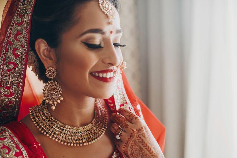 Vestido de boda hindu