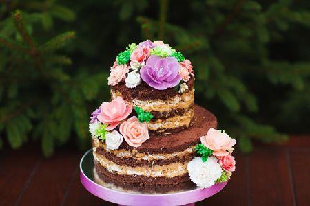 La torta nupcial que está de moda: 15 naked cakes únicas