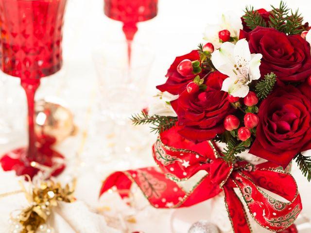 Detalles navideños para las damas de honor