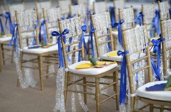 20 ideas para decorar las sillas de tu matrimonio con cintas