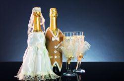 9 ideas para decorar las copas del brindis