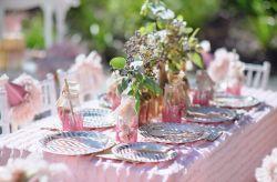 Un matrimonio en rosa cuarzo, color Pantone 2016
