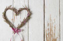 Coraz�n de flores para decorar tu matrimonio