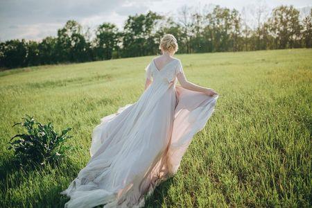 Tipos de colas de los vestidos de novia