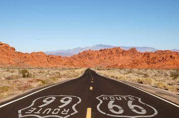 Luna de miel por la ruta 66 en Estados Unidos