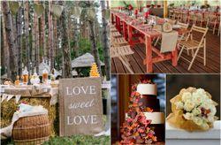 Decora tu matrimonio con los colores de moda otoño-invierno