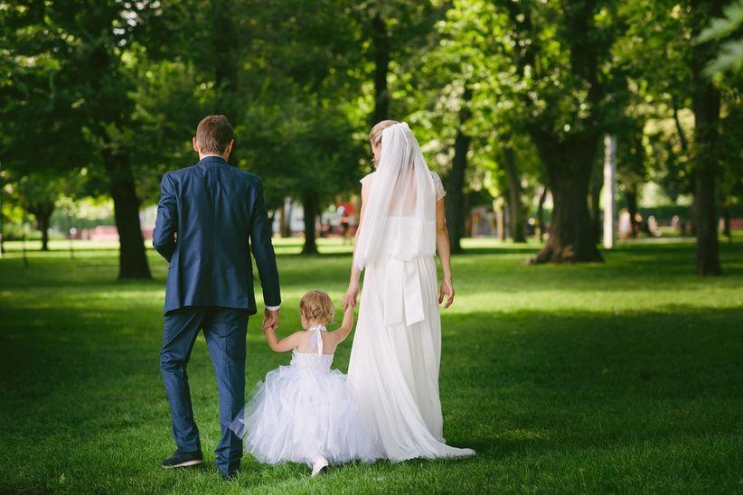 Resultado de imagen de fotos boda con hijos