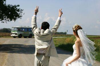 7 ventajas de contratar un autobús para el matrimonio