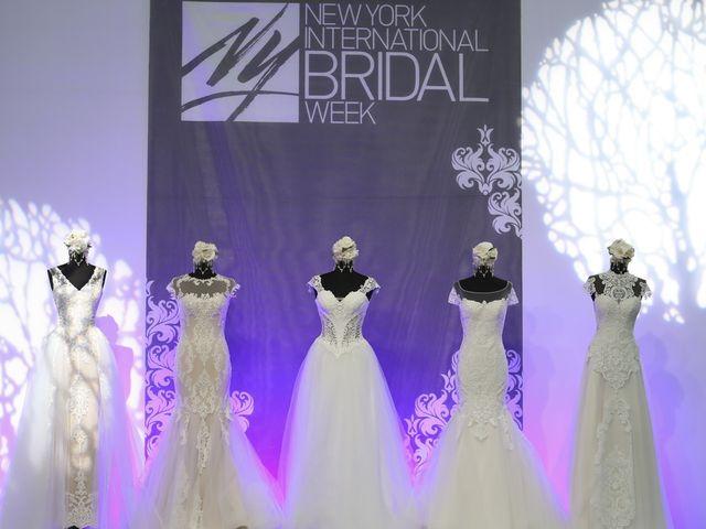 New York International Bridal Week 2016: tendencias a la vista