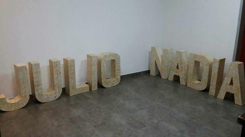 Haz tus propias maxi letras decorativas para el matrimonio - Letras decorativas pared ...