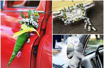 Consejos para adornar el auto de novios