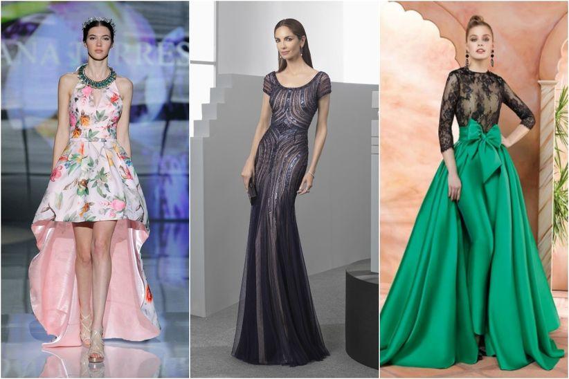 40bd829381b Te ponemos al día de cuáles son las tendencias más destacadas y repetidas  entre las propuestas de grandes diseñadores de vestidos de fiesta.