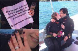 Karla y Jorge: una propuesta de matrimonio bajo el agua