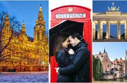 Ruta europea para la luna de miel: Barcelona, París, Londres y Berlín