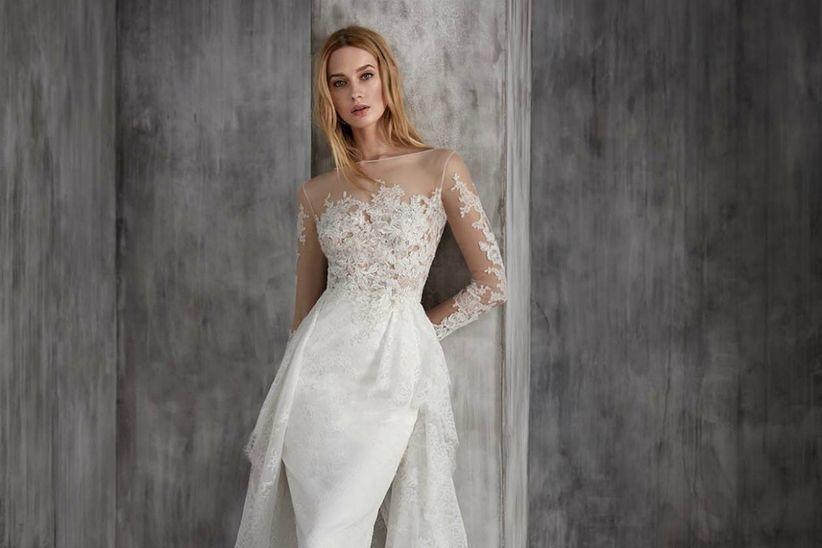 vestidos de novia manu garcía 2018: elegancia y seducción
