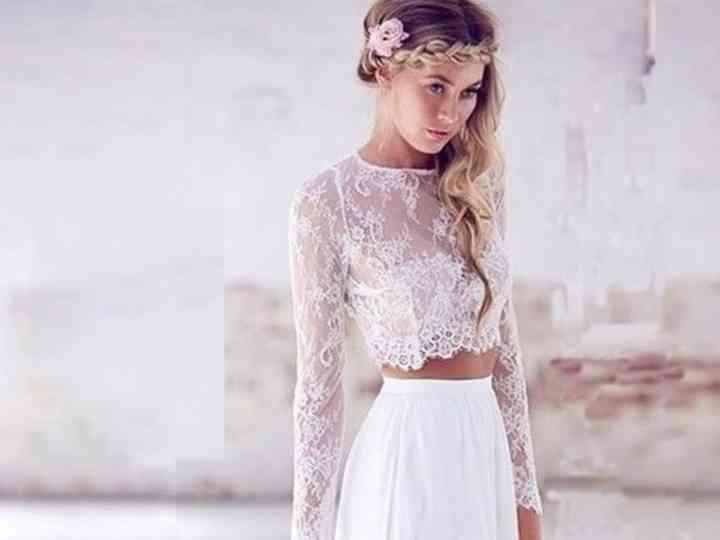 60 vestidos de novia hippie chic: belleza natural