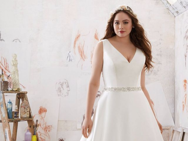 6fe97acb9 Vestidos de novia para gorditas: ¡Luce tu mejor ángulo!