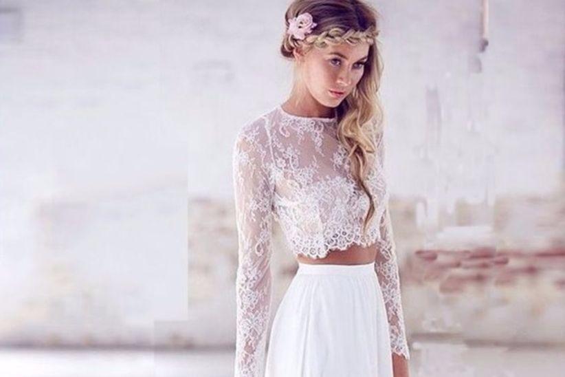 Vestidos de novias bodas hippies