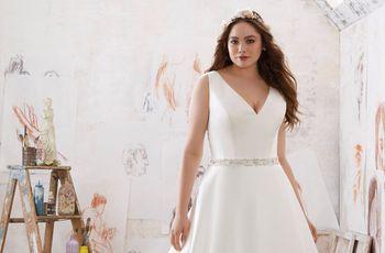 Vestidos de novia para gorditas: ¡Luce tu mejor ángulo!