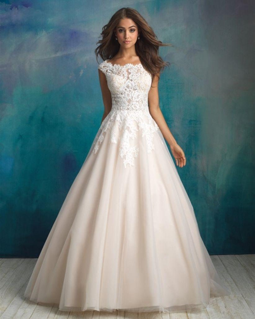 Vestidos de novia 2018 de Allure Bridals: elegancia y delicadeza