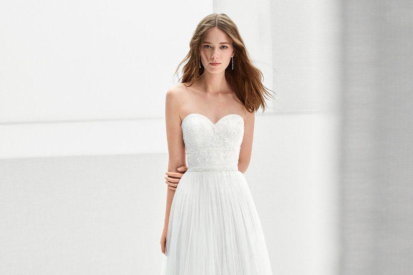 inspírate con la elegancia de los vestidos de novia 2018 de alma novia