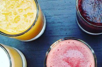 Cócteles sin alcohol para su matrimonio: refrescantes combinaciones