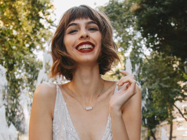 Cómo llevar el pelo corto el día de tu matrimonio y mantenerte fiel a tu estilo