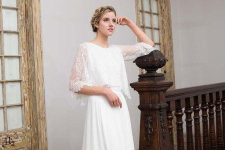 Romántica y elegante: así es la colección de vestidos de novia 2018 de Santo Encanto