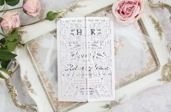 Invitaciones para un matrimonio vintage, ¿qué diseño les gusta más?