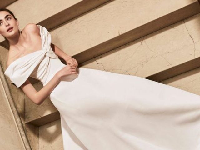 Descubre la elegancia de los vestidos de novia 2019 de Carolina Herrera