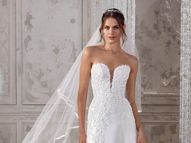 Vestidos de novia St. Patrick 2019: siluetas de románticos bordados y encajes