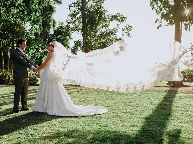 Eterno debate: ¿vestidos de novia con cola o sin cola?