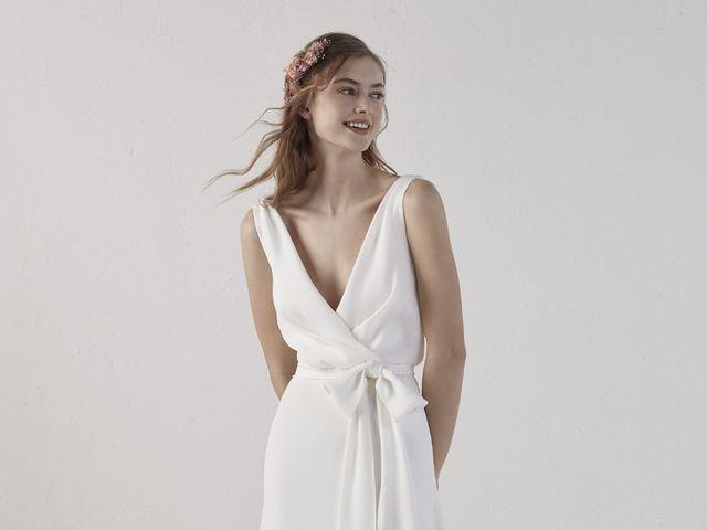 Vestidos de novia largos para el civil: 40 modelos de inspiración