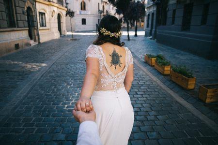 Consejos para una novia con tatuajes: ¿ocultos o a la vista?