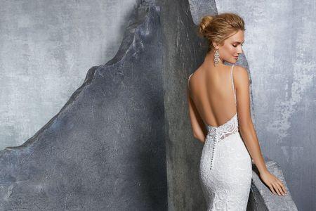 Vestidos de novia con espalda protagonista