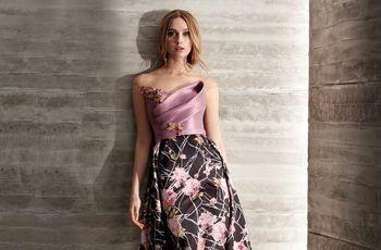 Estilo y elegancia: protagonistas de los vestidos de fiesta 2019 de Manu García