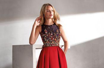 Descubre los elegantes vestidos de fiesta 2019 de Valerio Luna y sé una invitada perfecta