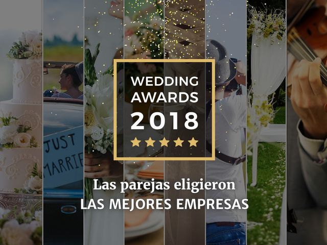 ¡Descubre a los ganadores de los Wedding Awards 2018 de Matrimonios.cl!