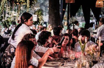 Banquete de matrimonio sin protocolo de mesas, ¿es para ustedes?