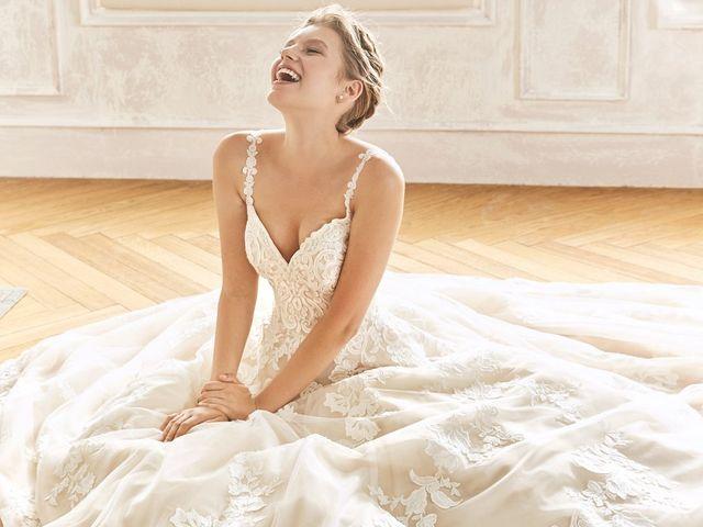 Gracia y distinción en los vestidos de novia 2019 de La Sposa