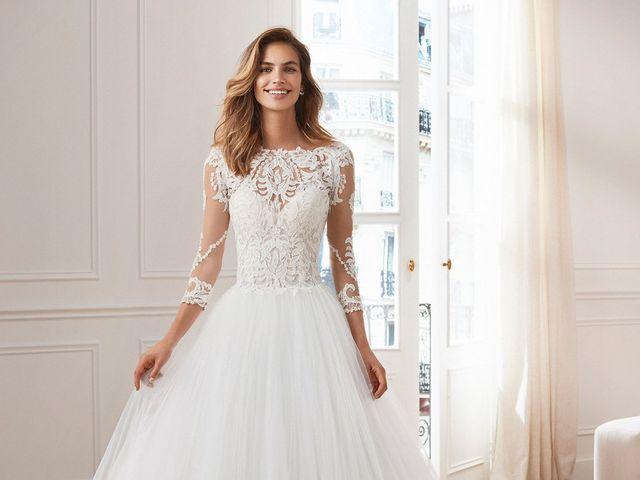 Vestidos de novia 2019 de Luna Novias: una vuelta a los clásicos