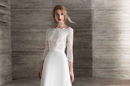 Los vestidos de novia 2019 de Manu García seducen con sus detalles