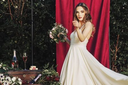 Cómo buscar inspiración para el diseño de tu vestido de novia