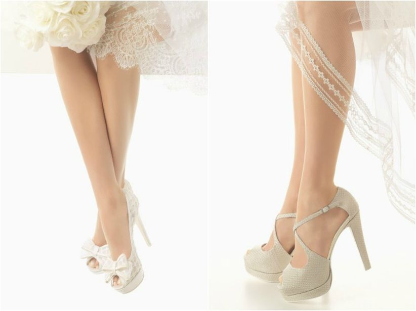 tendencias 2016 en zapatos de novia