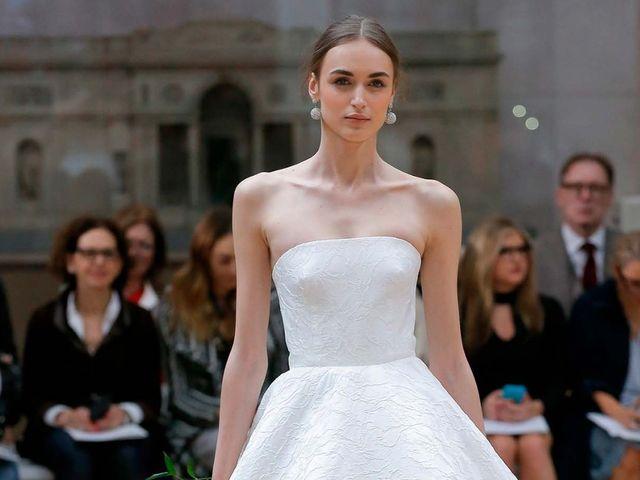 Vestidos de novia Oscar de la Renta 2018: glamur y romanticismo