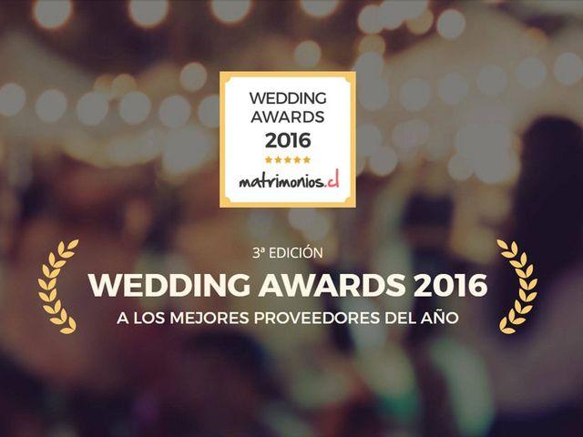 Matrimonios.cl concede los premios Wedding Awards 2016