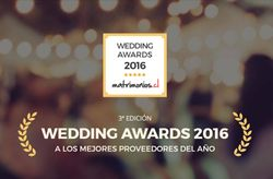 Matrimonios.cl concede los premios Wedding Awards 2016