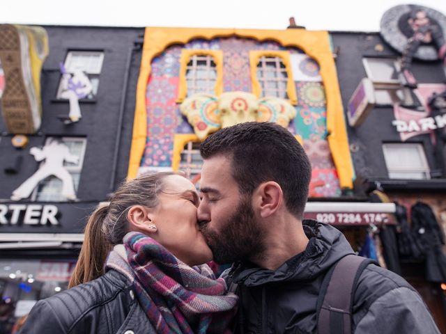 Susana y Paco: una pedida de mano sorpresa en Londres