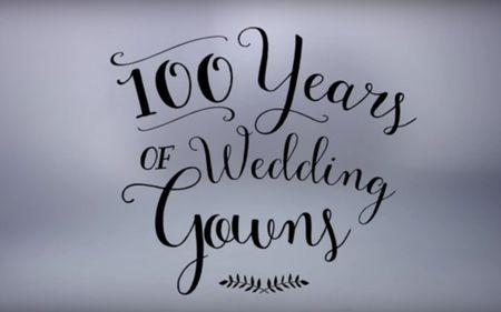 100 años de vestidos de novia: ¡Una visión rápida de las tendencias en 3 minutos!